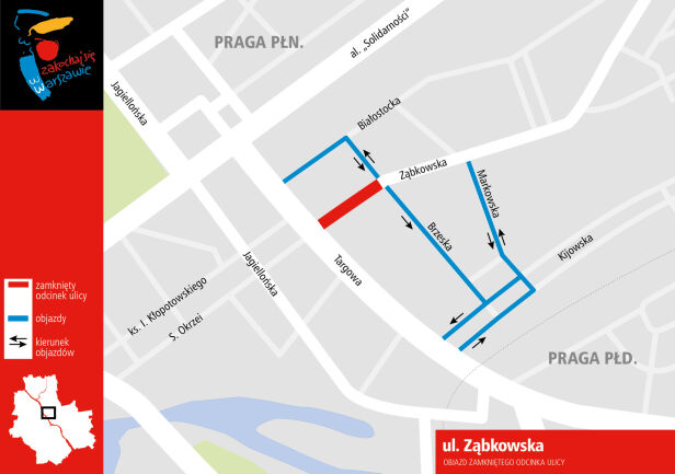 Zmiany na Ząbkowskiej Urząd Miasta