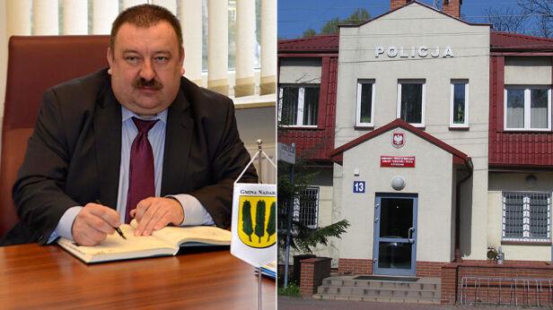 Wójt Nadarzyna Janusz Grzyb KSP/UG Nadarzyn