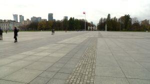 """Błaszczak """"zamyka"""" plac Piłsudskiego. Argumenty: obronność i reprywatyzacja"""