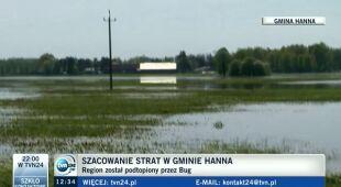 Mieszkańcy gminy Hanna o poniesionych stratach (TVN24)