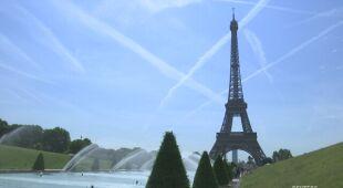 Fala upałów w Paryżu