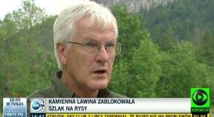 Szlak na Rysy zamknięty (TVN24)