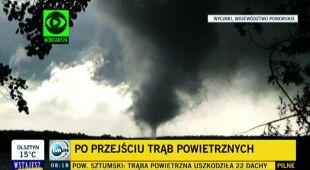Gwałtowne zjawiska konwekcyjne będą coraz częstsze (TVN24)
